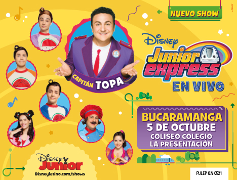 Topa en Junior Express en Vivo- Bucaramanga