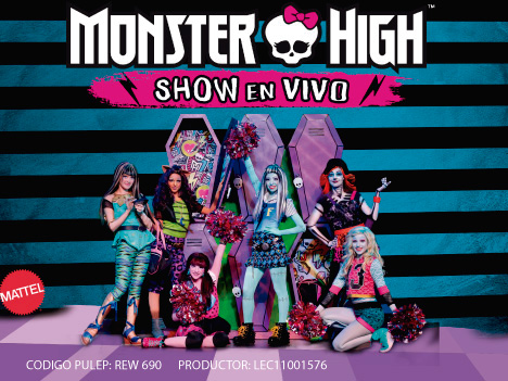 Monster High Show en Vivo