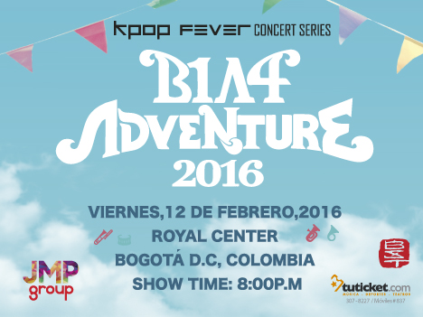 B1A4 Adventure 2016 Live In Colombia