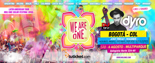 We Are One Latinoamerican Tour