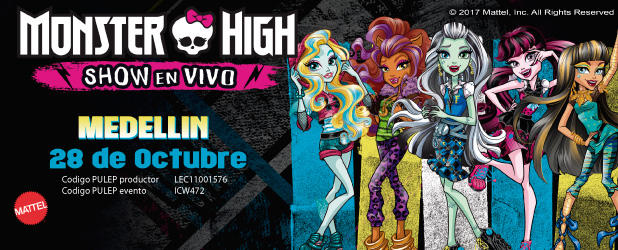 Monster High Show en Vivo - Medellin