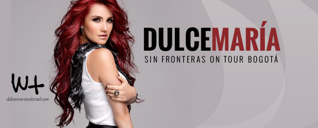 """Dulce María """"Sin Fronteras Reloaded Tour"""